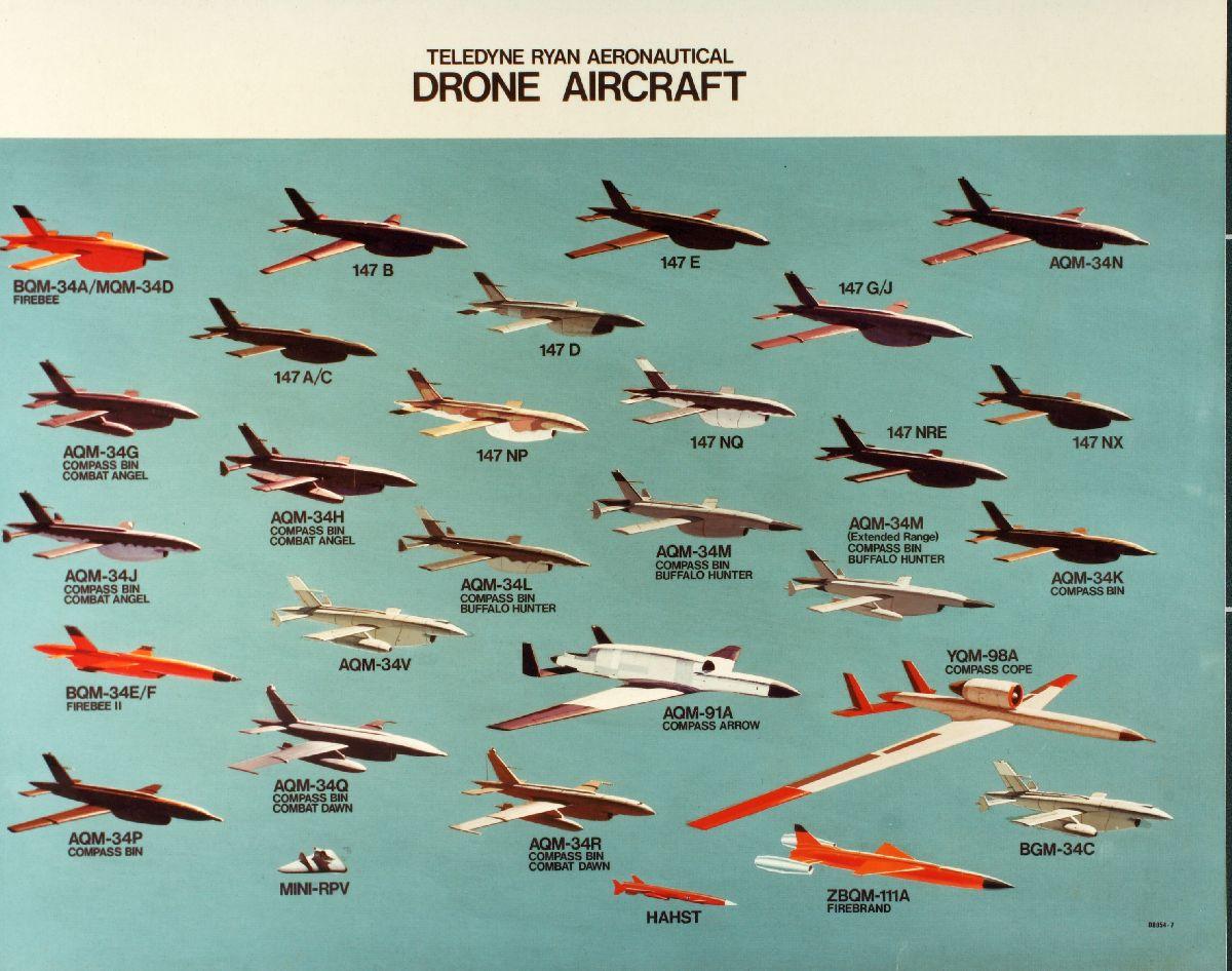 weaponsandwarfare.com - MSW - Ryan Aeronautical Firebee Drones II